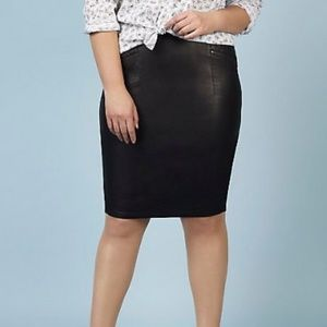 Rebel Wilson x Torrid Faux Leather Pencil Skirt